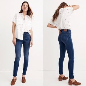 MADEWELL | Roadtripper High Waist Skinny Jeans
